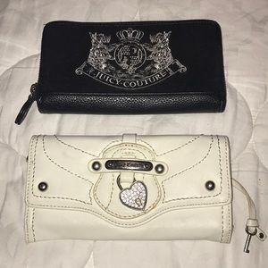 Two Juicy Couture wallets